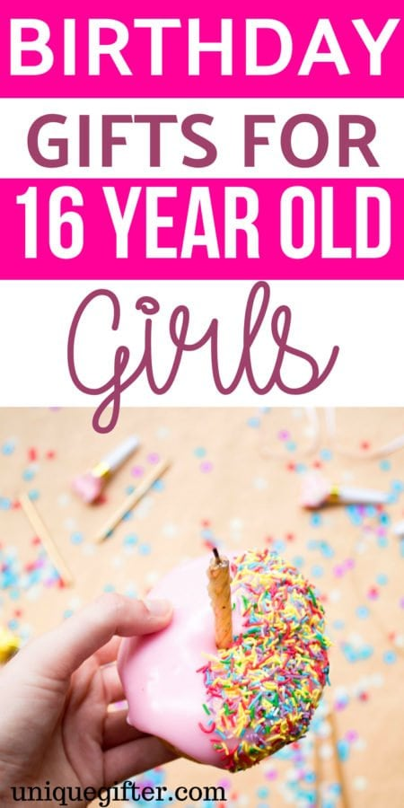 Birthday Gifts for 16 Year Old Girls