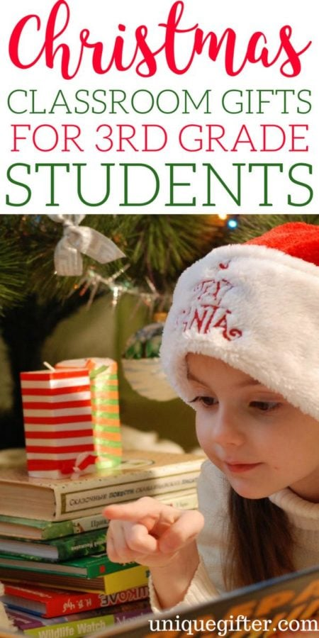 Christmas Classroom Gifts for 3rd Grade Students