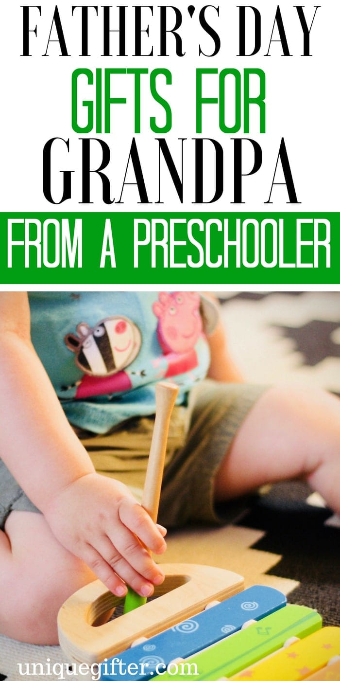 Father's Day Gifts for Grandpa From A Preschooler | Father's Day Gifts for my Grandpa From A Preschooler  | What to buy my Grandpa From A Preschooler for Father's Day | Creative gifts for my grandpa on Father's Day  | What to buy my grandpa who has everything for Father's Day | Gift Ideas for my Grandpa From A Preschooler this Father's Day | Presents for Father's Day this year | #grandpa #FathersDay #gifts
