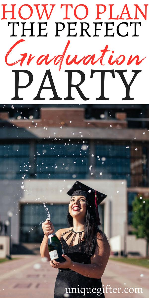 How To Plan The Perfect Graduation Party | Creative Ways To Plan a Perfect Graduation Party | Tips for Planning the Perfect Graduation Party | Hacks for Planning a Good Graduation Party | #graduation #party #howto