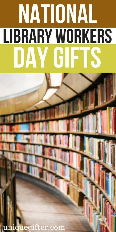 National Library Workers Day Gift Ideas