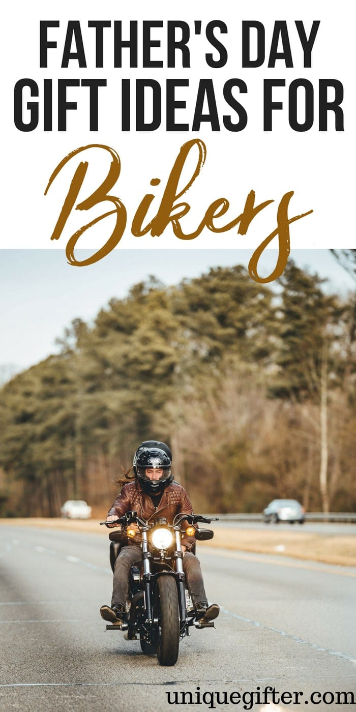 Father's Day Gifts for Bikers   Father's Day Gifts for a dad who is a Biker   What to buy a Biker Dad for Father's Day   Creative gifts for Bikers on Father's Day   What to buy Bikers who has everything for Father's Day   Gift Ideas for a Biker this Father's Day   Presents for Father's Day this year   #bikers #FathersDay #gifts