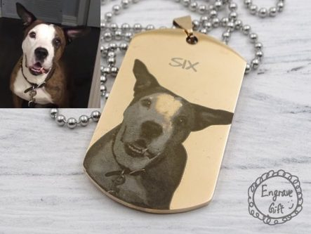 They can either hang or wear this Sympathy Gift Ideas for Loss of Dog.