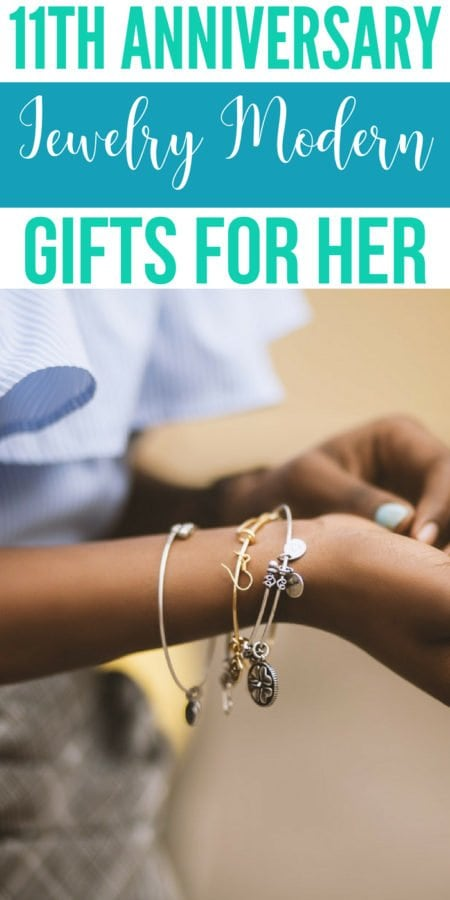 11th Jewelry Modern Anniversary Gifts For Her