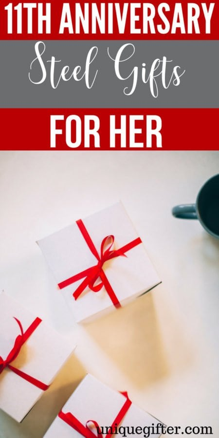 11th Steel Anniversary Gifts For Her
