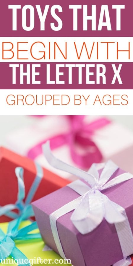 Toys That Begin With The Letter X For All Ages
