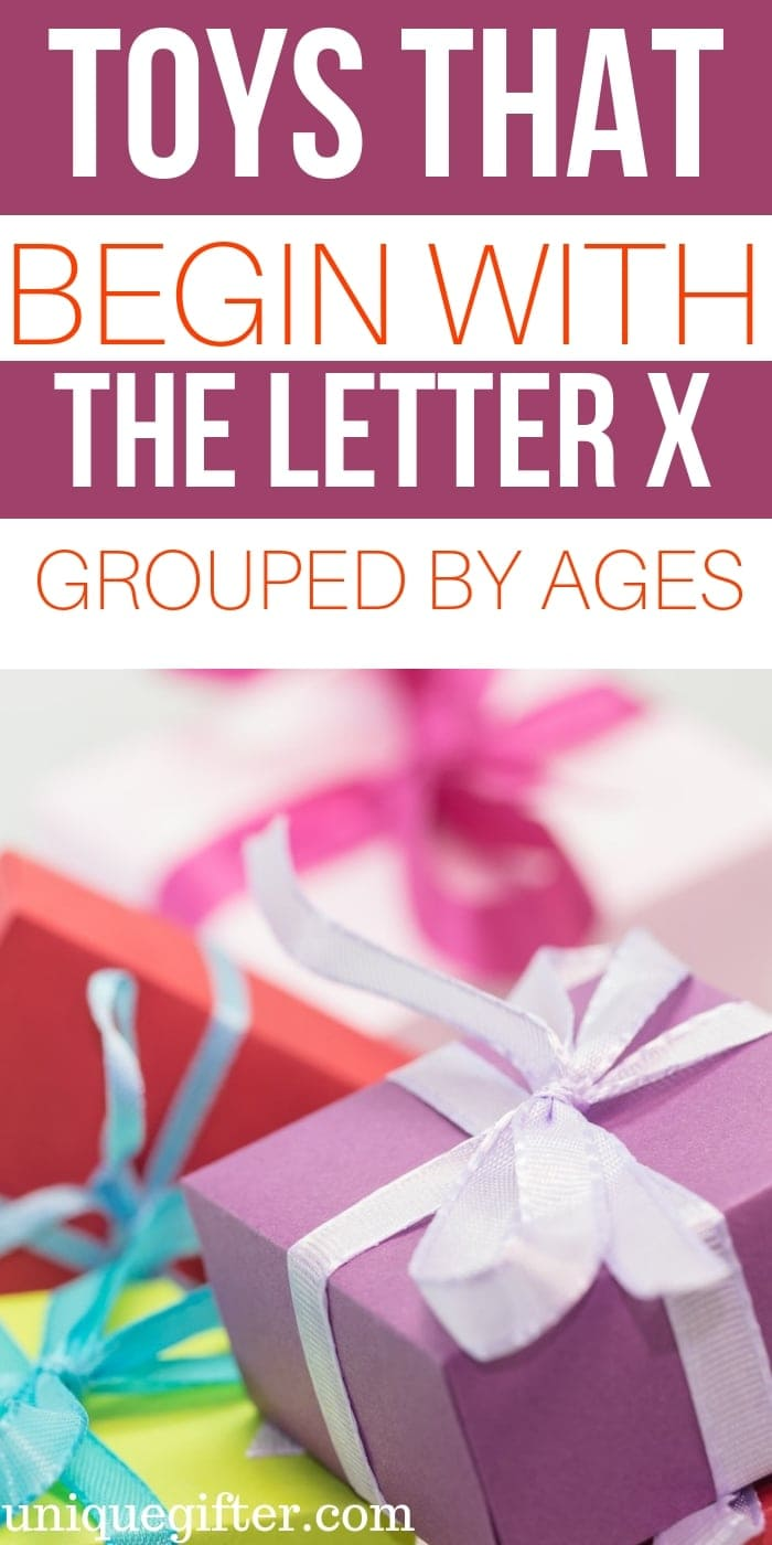 Toys that Begin with the Letter x   Kid Toys That Begin with the Letter x   Age 2-5 Toys That Begin with x   Age 6-8 Toys that Begin With Letter x   What toys for kids begin with the letter x   #KidToysByLetter #Gifts #PresentsForKids