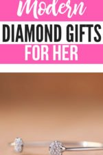 10th Diamond Modern Anniversary Gifts for Her
