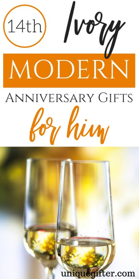 14th Ivory Anniversary Gifts for Him