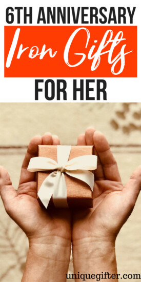 6th Iron Anniversary Gifts for her | Creative 6th Iron Gifts for her | Present Ideas for her for 6th Iron Anniversary | Unique Gifts for 6th Iron Anniversary Gifts for her | Modern 6th Iron Anniversary Gifts for her | Creative and Unique 6th Iron Anniversary Gifts for her | #6th #anniversary #her
