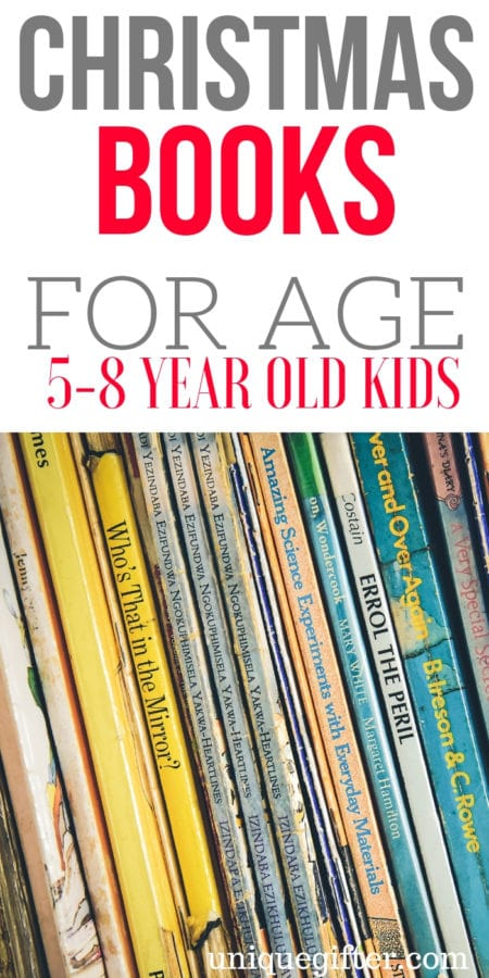 20 Christmas Books for 5-8 Year Old Kids