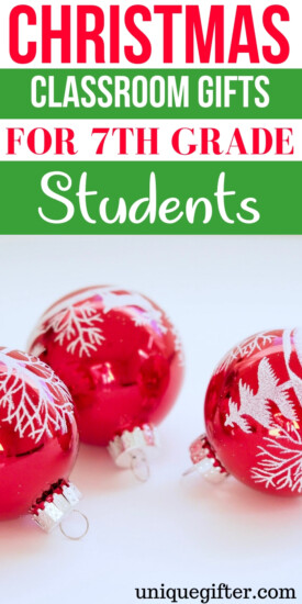 Christmas classroom gifts for 7th grade students   Christmas Gifts for 7th grade students that they will love   7th grade students gift ideas   What to buy a 7th grade students for #Christmas   7th grade students presents   Unique gifts for a 7th grade students   What to buy a C 7th grade students for the holidays   7th grade students gift ideas for a friend   Christmas   Present   Holiday #7th gradestudents #holiday #giftideas