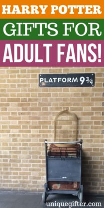 Harry Potter gifts for adult fans   What to buy for an adult who likes Harry Potter   Unique Harry Potter Adult Gift Ideas   Special Harry Potter Gifts   Adult Gifts for A Harry Potter Fan   #HarryPotter #adult #gifts