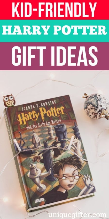 Kid-Friendly Harry Potter Gift Ideas