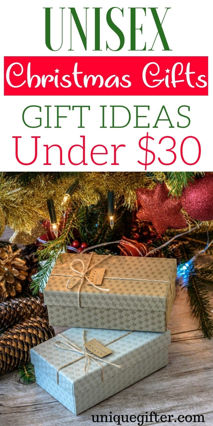 20 Unisex Christmas Gift Ideas Under 30 Unique Gifter