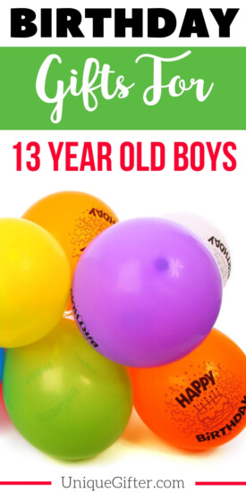 Birthday Gifts for a 13 year old boy   The perfect Birthday Gifts for a 13 year old boy   13 year old boy Birthday Presents   Modern 13 year old boy Gifts   Special Gifts To Celebrate His 13th Birthday   13th Birthday Presents to Buy for him   Unique Birthday Gifts for his 13th birthday   #birthday #13yearsold #forhim