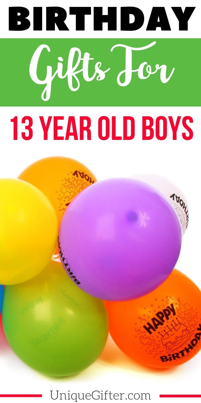 Birthday Gifts for a 13 year old boy | The perfect Birthday Gifts for a 13 year old boy | 13 year old boy Birthday Presents | Modern 13 year old boy Gifts | Special Gifts To Celebrate His 13th Birthday | 13th Birthday Presents to Buy for him | Unique Birthday Gifts for his 13th birthday | #birthday #13yearsold #forhim