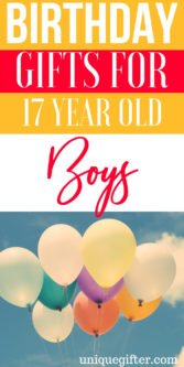 Birthday Gifts for a 17 year old boy | The perfect Birthday Gifts for a 17 year old boy | 17 year old boy Birthday Presents | Modern 17th year old boy Gifts | Special Gifts To Celebrate His 17th Birthday | 17th Birthday Presents to Buy for him | Unique Birthday Gifts for his 17th birthday | #birthday #17yearsold #forhim