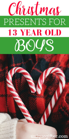 Christmas classroom gifts for a 13 year old boy | Christmas Gifts for a 13 year old boy that they will love | a 13 year old boy gift ideas | What to buy a 13 year old boy for #Christmas | 13 year old boy presents | Unique gifts for a 13 year old boy | What to buy a 13 year old boy for the holidays | a 13 year old boy gift ideas for a friend | Christmas | Present | Holiday #boygifts #holiday #giftideas