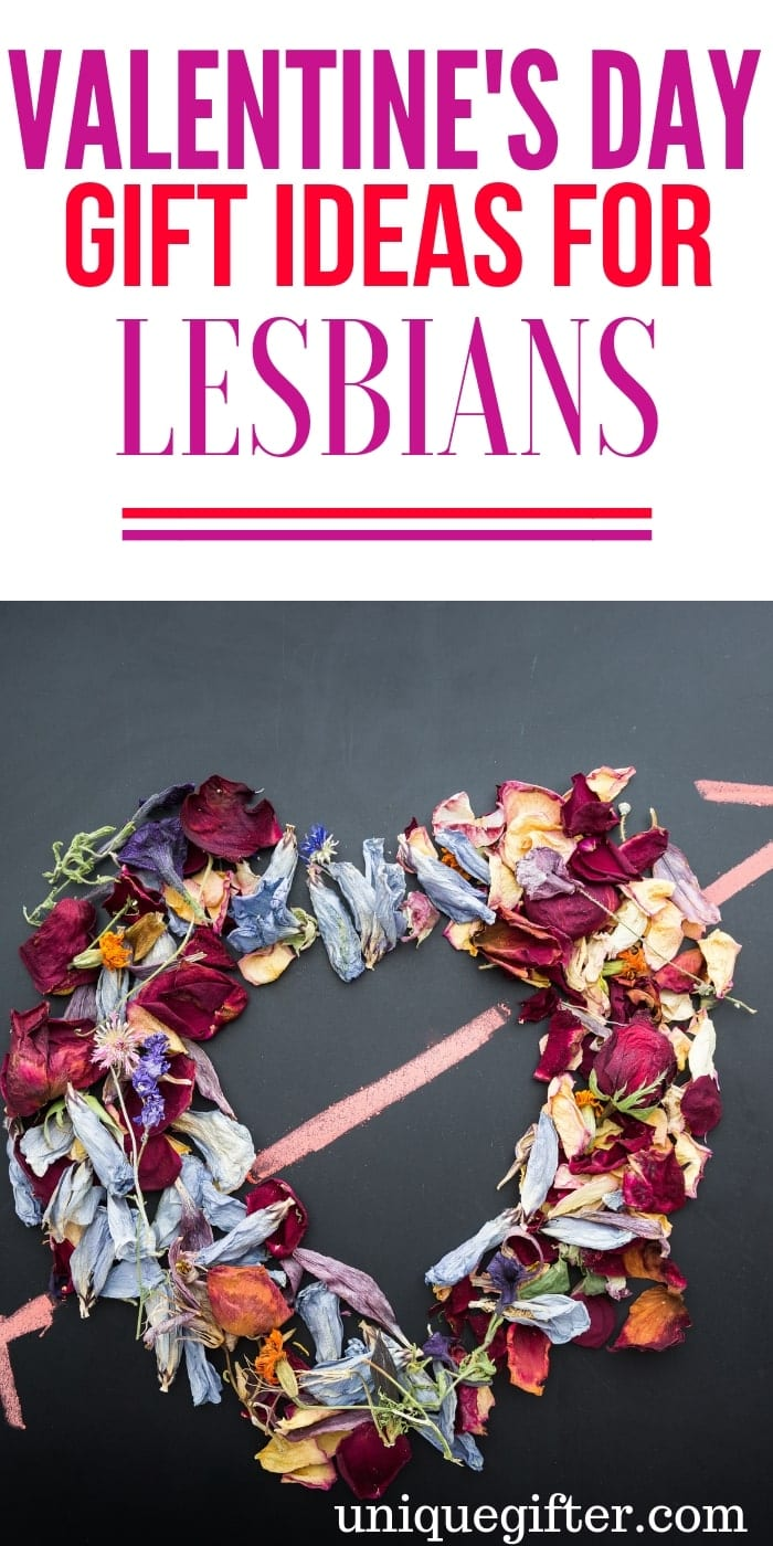 Romantic Valentines Day Gifts for lesbians | What to buy lesbians for Valentine's Day | Creative Valentine's Day Presents for lesbians | Gift Ideas for lesbians for Valentine's Day | Unique Valentine's Day Gifts For A lesbians | #lesbian #valentinesday #giftideas