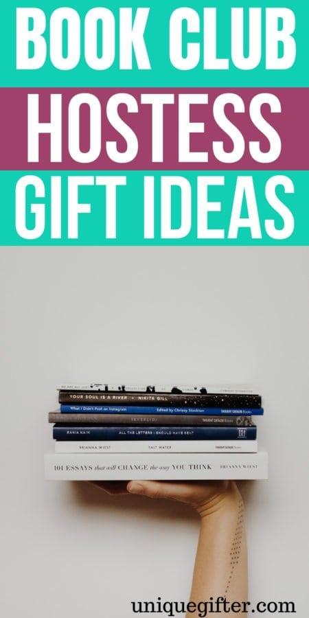 20 Book Club Hostess Gifts