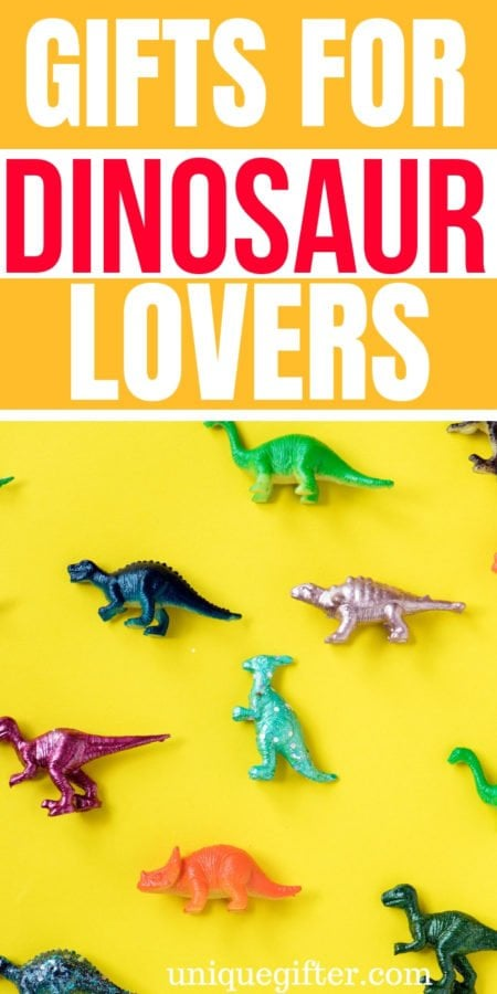 20 Gifts for Dinosaur Lovers