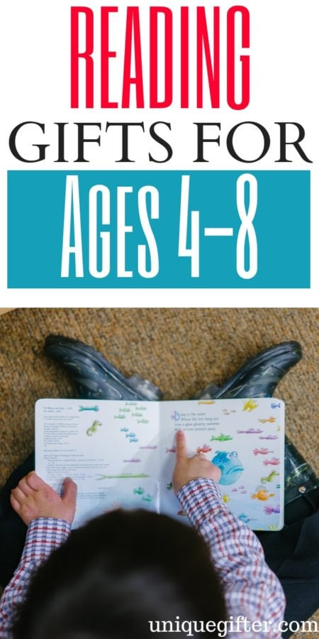 20 Books Gifts for Kids (Ages 4-8)