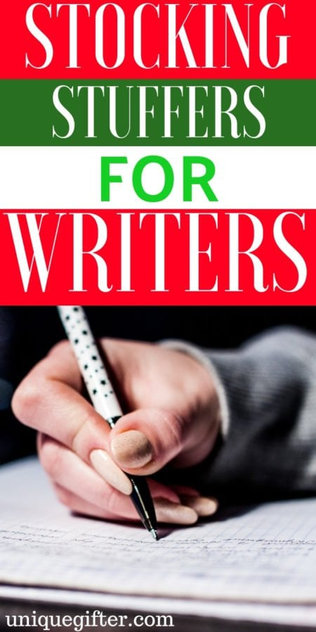 20 Stocking Stuffers for Writers
