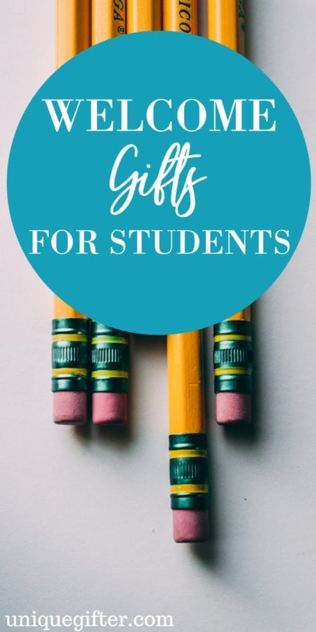 20 Welcome Gifts for Students