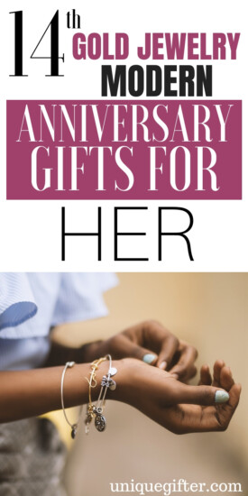 14th Gold Jewelry Modern Anniversary Gifts for Her | What to buy for 14th Wedding Anniversary | Anniversary Gifts For Your Wife | 14th Wedding Anniversary | Gifts For Her | Creative Gifts For Your Wife | Anniversary Gifts For Your Wife | #gifts #anniversary #giftguide #presents #giftsforher