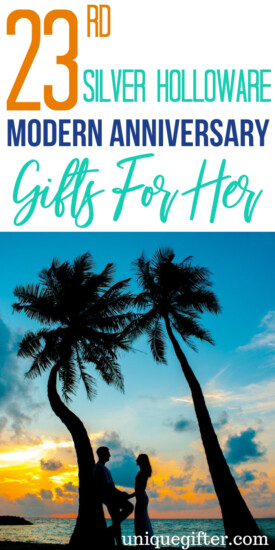 23rd Silver Holloware Modern Anniversary Gifts For Her | Beautiful Anniversary Gifts For Her | 23rd Wedding Anniversary Gifts For Her | Celebrate Your Anniversary With These Gift Ideas | Gifts For Your Wife | 23rd Year Of Marriage | #gifts #giftguide #anniversary #giftsforher #presents