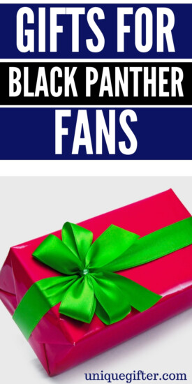 Gifts for Black Panther Fans | Creative Black Panther Gifts | Unique Gifts For Black Panther Fans | Black Panther Fanatic Gifts | Black Panther Fanatic Presents | Creative Black Panther Fans | #gifts #giftguide #presents #blackpanther #unique