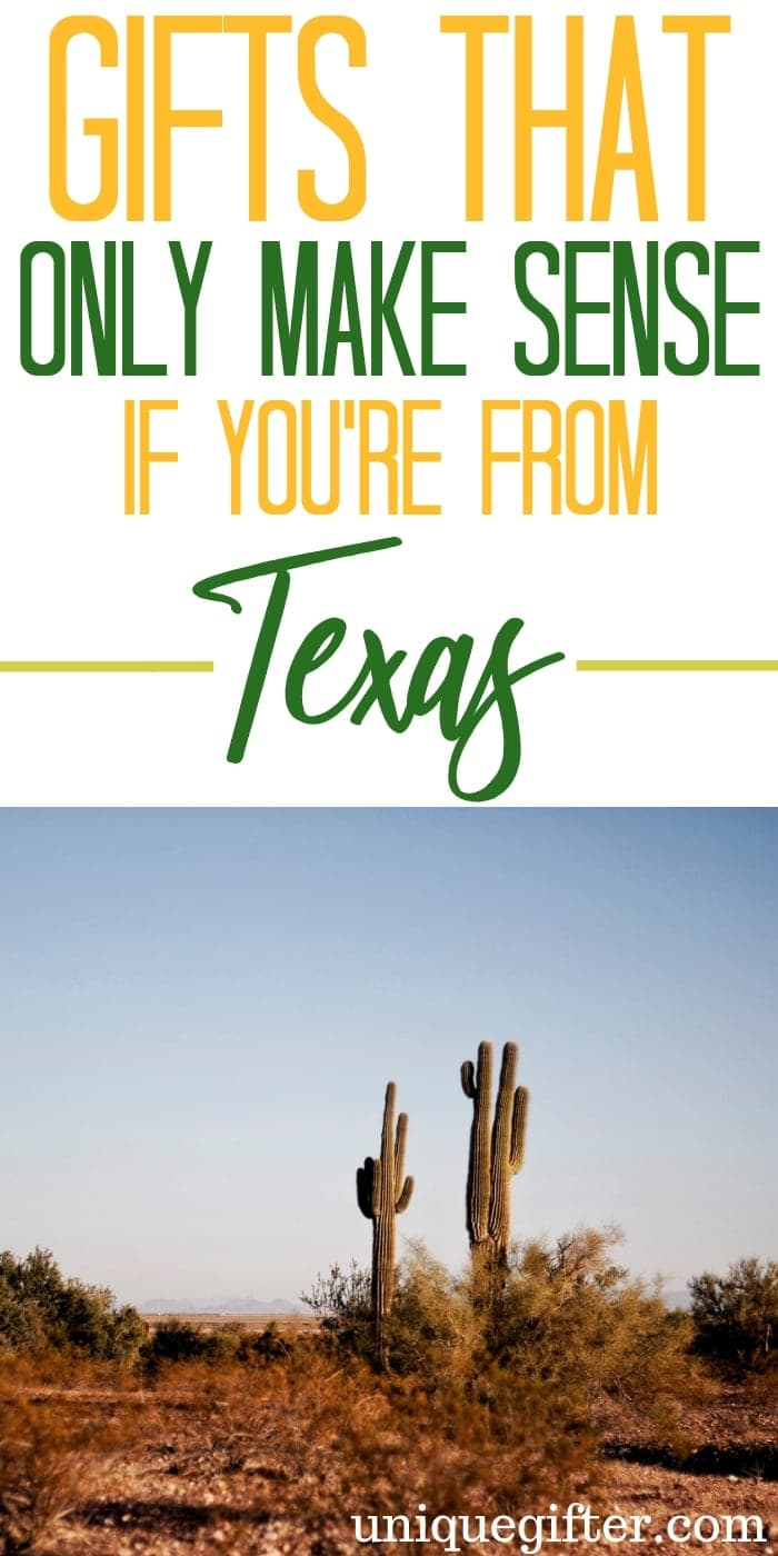 Gifts That Only Make Sense If You're From Texas | Gifts For Texans | Creative Texas Gifts | Unique Texas Gifts | Texas Presents | Texas Gifts | Texas | Creative Texas Presents | Unique Texas Gifts | #gifts #giftguide #presents #texas #unique
