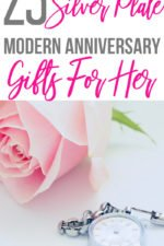 20 23rd Silver Plate Modern Anniversary Gifts for Her