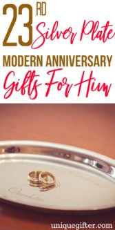 23rd Silver Plate Modern Anniversary Gifts For Him | Celebrate Your 23rd Anniversary | Anniversary Gifts For Him | Wedding Anniversary Gifts For Husband | 23rd Wedding Anniversary | Gift Ideas For Anniversary | Gift Ideas For Anniversary For Him | #gifts #giftguide #anniversary #giftsforhim #presents