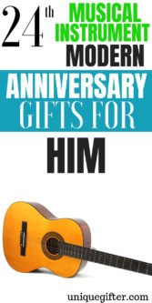 24th Musical Instrument Modern Anniversary Gifts For Him | 24th Wedding Anniversary Gifts | Gifts For Your Husband | Anniversary Gifts For Him | Creative 24th Musical Anniversary Gifts | Unique Gifts For Your Husband | 24th Anniversary Gifts | #gifts #giftguide #anniversary #presents #giftsforhim