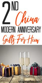 2nd China Modern Anniversary Gifts For Him | Presents For Your Husband | Anniversary Gifts | Anniversary Presents | 2nd Wedding Anniversary | Husband Gifts | Husband Presents | 2nd Anniversary Presents | Creative Wedding Anniversary Gifts | Unique Wedding Anniversary Gifts | #gifts #giftguide #presents #anniversary #unique