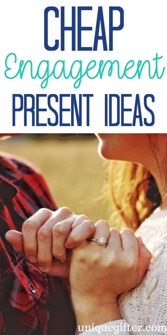 Cheap Engagement Present Ideas | Presents For New Couple | Engagement Gifts | Engagement Presents | Unique Engagement Gifts | Creative Engagement Presents | Engagement Gift Ideas | Gifts For Engagement | Gifts For Couple | #gifts #giftguide #presents #unique #engagement