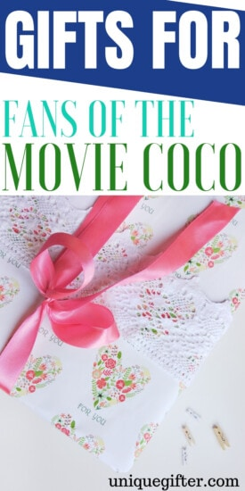 Gifts For Fans Of The Movie Coco | Coco Gifts | Coco Presents | Coco Movie Gifts | Unique Coco Movie Presents | Gifts for The Movie Coco | #gifts #giftguide #coco #movie #unique