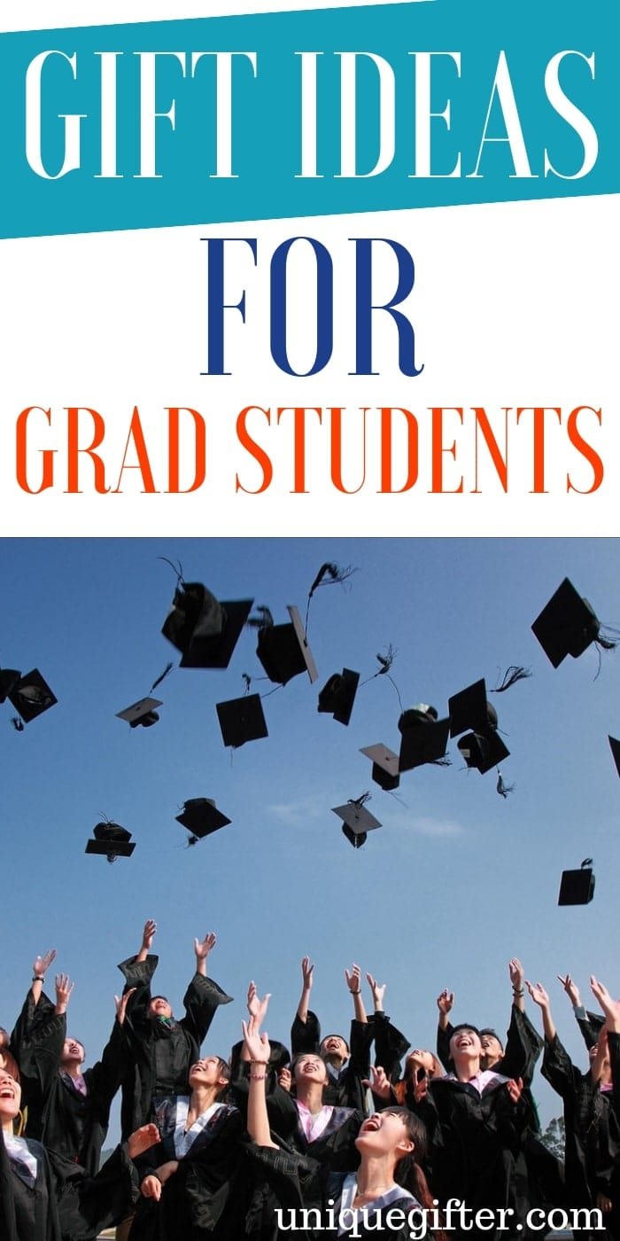 Gift Ideas For Grad Students | Grad Student Gifts | Presents For Grad Students | Unique Gifts For Grad Student | Graduation Gifts | Gift Ideas For Graduate | Gifts For Grads | Creative Graduation Gifts | Creative Gift Ideas For Graduate | #gifts #giftguide #presents #unique #graduation
