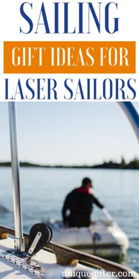 Sailing Gift Ideas For Laser Sailors | Sailor Gifts | Creative Sailor Presents | Creative Sailor Gifts | Presents For Sailors | Gifts For Sailors | Unique Gifts For Sailors | Unique Presents For Sailors | #gifts #giftguide #presents #sailorgifts #unique