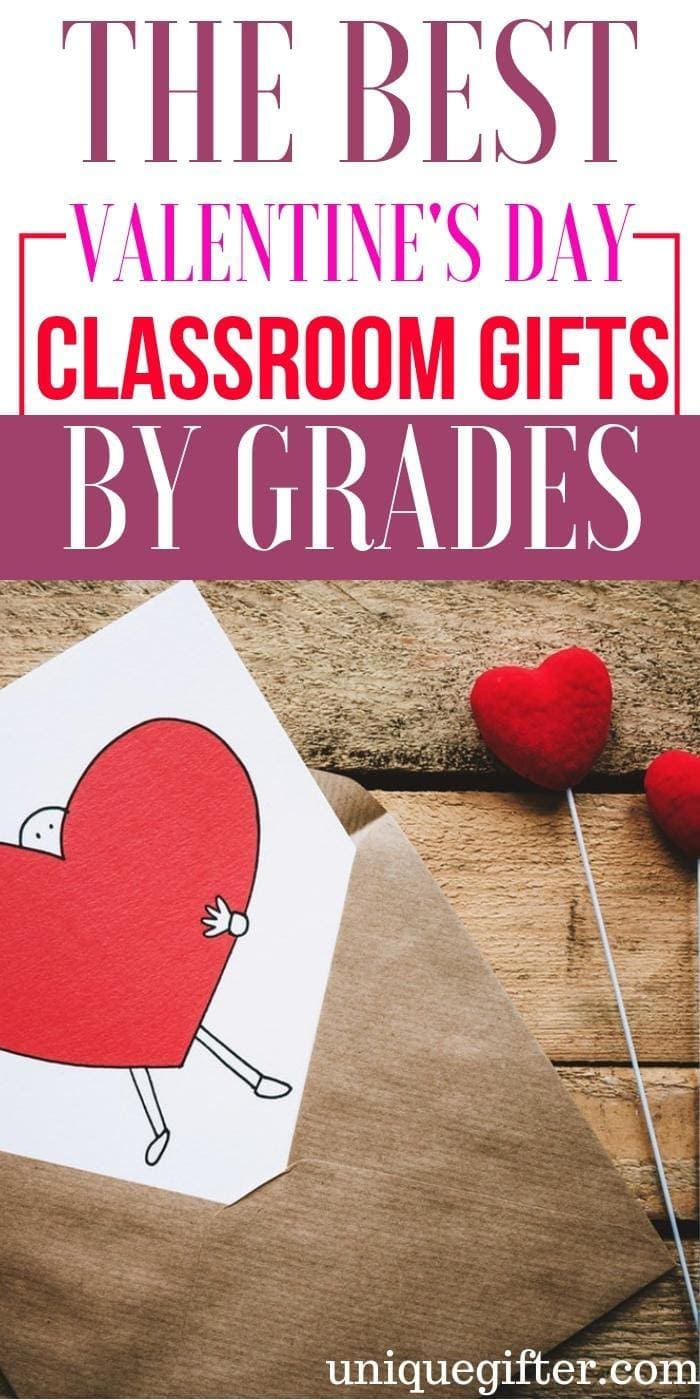 Valentine's Day Classroom Gifts by Grades | Teacher and Parent Gifts for Classroom Students | Affordable Valentine's Day gifts for the whole class |