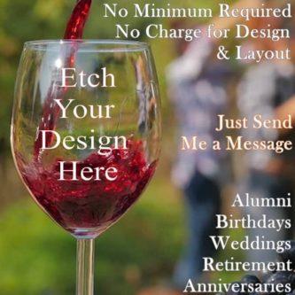 Design Your Own Custom Wine Glass