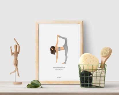 Yoga Pose Printable