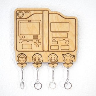 This pokemon gifts for adults would be a cute addition to any entryway.