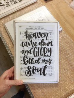 Welcome gifts for new church members include this fun print.