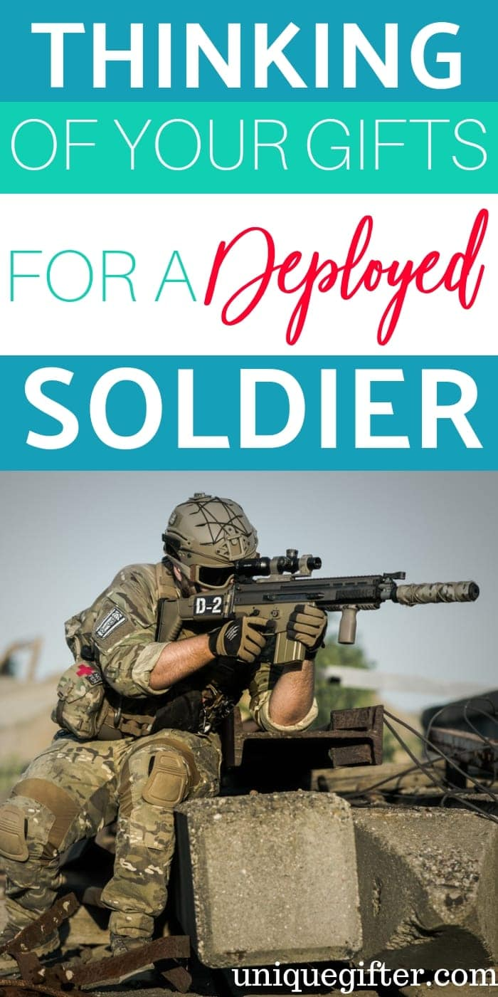 Thinking Of You Gifts For Deployed Soldier | Gifts For Soldier | Thoughtful Gifts For Soldier | Deployed Solder Gifts | Deployed Solder Presents | Thoughtful Soldier Gifts | Creative Soldier Gifts | #gifts #giftguide #presents #soldier #unique