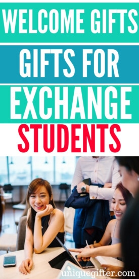 Welcome Gifts For Exchange Students | Thoughtful Gifts For Exchange Students | Gifts For Exchange Students | Presents For Exchange Students | Ideas For Exchange Students | Unique Gift Ideas For Exchange Ideas | #gifts #giftguide #presents #exchangestudent #unique