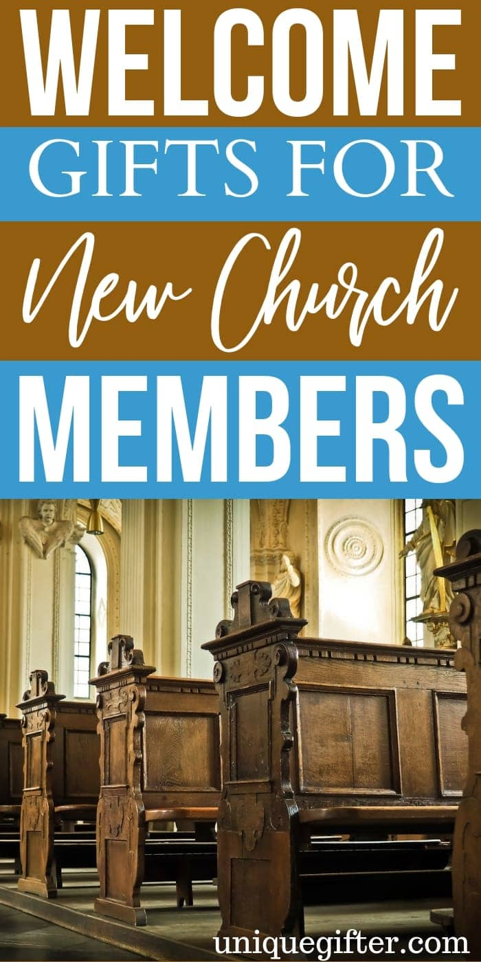 Welcome Gifts For New Church Members | Congregation Gifts | Presents For New Church Members | Creative Church Members Gifts | Unique Church Members Gifts | Thoughtful Church Members Presents | Present For Congregation | Church Family Gifts #gifts #giftguide #church #presents #unique