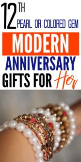 12th Pearls & Colored Gems Modern Anniversary Gifts for Her | 12th Anniversary Gift Ideas | Gift Ideas For Her | Anniversary Gifts For Her | Unique Gifts For 12th Anniversary | Modern 12th Anniversary Gifts | Creative Anniversary Gifts For Her | 12th Anniversary Presents | #gifts #presents #giftguide #forher #giftideas